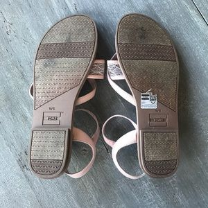 10272bdb6928e1 Toms Shoes - Toms Petal Pink Lace Grosgrain Lexie Sandals